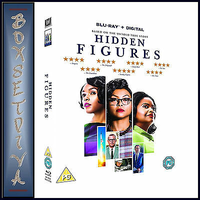 Hidden Figures - Based On An Untold True Story **Brand New Blu-Ray***