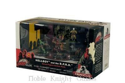 HorrorClix Hellboy and the B.P.R.D. Action Pack Box MINT