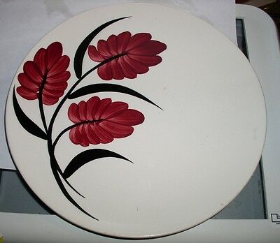 Blue Ridge Pottery. 1 Plate Foxfire