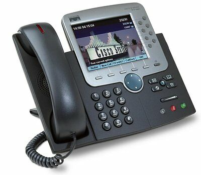Cisco IP Phone 7970G Colour Touch Screen Executive Handset