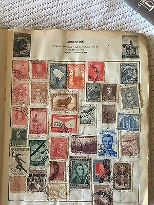 i have an album of stamps and some loose for sale j