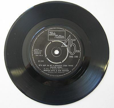 "Marvin Gaye & Kim Weston - It Takes Two / It's Got To Be A Miracle 7"" Single"