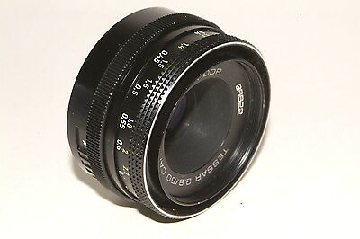 M42 fit Carl Zeiss Tessar f2.8 50mm prime lens