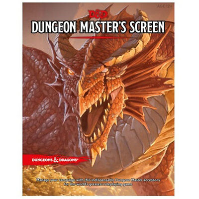 Dungeons And Dragons 5th Edition Dungeon Masters Screen