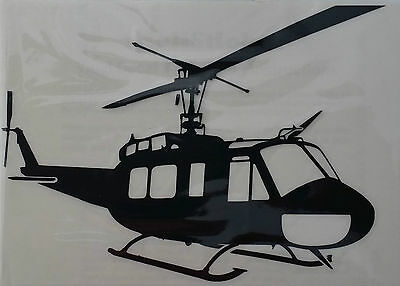 UH-1H / BELL 'HUEY' IROQUIOS - Helicopter Vinyl Decal / Sticker