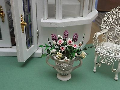 Dolls House 1/12 Falcon Urn with Flowers