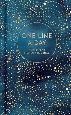 Celestial One Line a Day: (Blank Journal for Daily Reflections, 5 Year Diary Boo