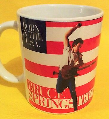 Bruce Springsteen -Born In The Usa 1984-Album Cover-On A  Mug