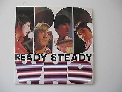 "Ready Steady WHO - The Who - 5 Track 7"" Vinyl EP 1983 Reaction Mono 1983"