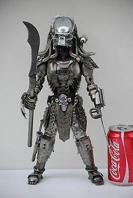 Predator classic (action 1, mask E ) Scrap Metal Sculpture Art Handmade Gift