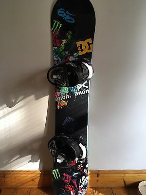 Burton Blunt Snowboard, Bindings & Bag. L@@K