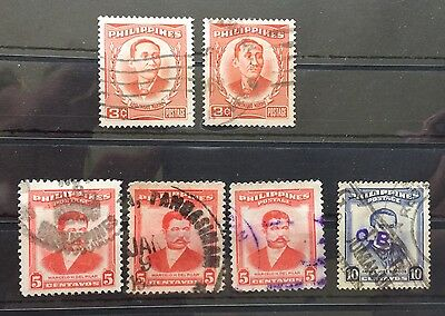 1952 Philippines SG730 .... Used (6)