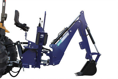 Tractor Backhoe Attachment- 3 Point Linkage Suit Tractors 25 - 50Hp Back Hoe 18