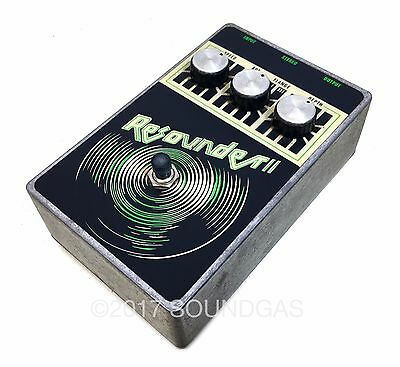 RESOUNDER II -Wing Music- Rare 1970s Vintage Stereo Flanger Guitar Effect Pedal
