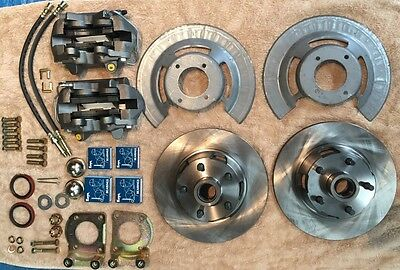64, 65, 66 Ford Mustang Front Disc Brake Kit, Kelsey-Hayes Style, Brand New