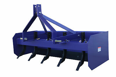 Dissy Machinery 6Ft Tractor Box Blade Ripper Cat 1, 3 Point Linkage 1800Mm