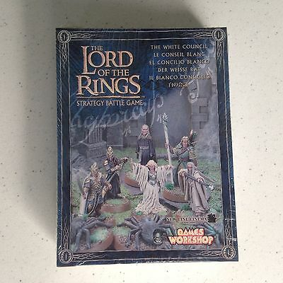Games Workshop Lord of the Rings The White Council 6 Metal Miniature