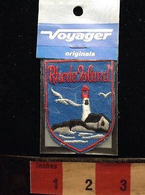 Vtg Voyager Brand Original Souvenir Rhode Island Patch In Package 671