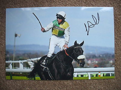 Many Clouds Leighton Aspell 2015 Grand National Signed 12X8Inch Photo