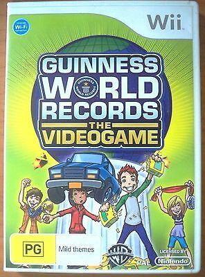 Guiness World Records The Videogame - Wii Game