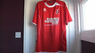 Scarborough Football Shirt  Signed by Dean Windass