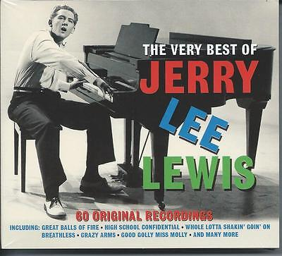Jerry Lee Lewis - The Very Best Of [Greatest Hits] 3CD NEW/SEALED