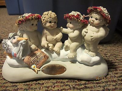 Dreamsicles Angel Cherub A Child Is Born Limited Edition Signed