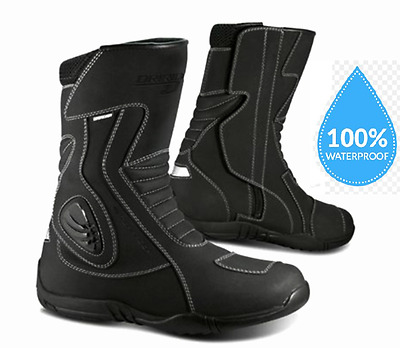 DRIRIDER STORM motorcycle boots Waterproof NEW Motorbike Road size #42 to #47