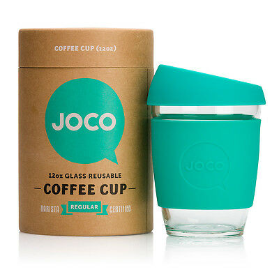 NEW Mint reusable glass cup (various sizes) by JOCO