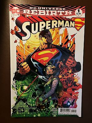DC comics: SUPERMAN # 1, Rebirth , 2nd print