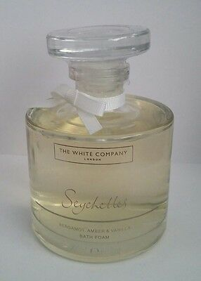 The White Company London - 200Ml Seychelles Bath Foam - Bergamot Amber Vanilla