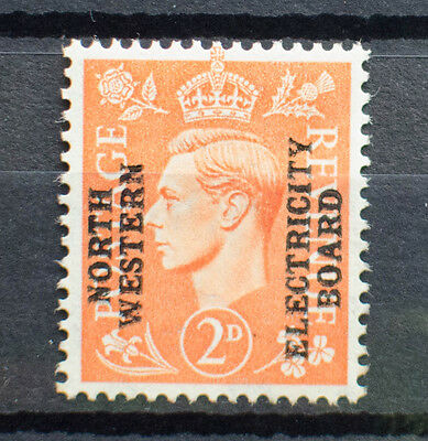 George VI Commercial Overprint : North Western Electricity Board
