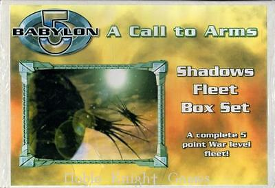 Mongoose Babylon 5 Call to Arms Shadows Mi Shadows Fleet Box (2nd Editio Box SW