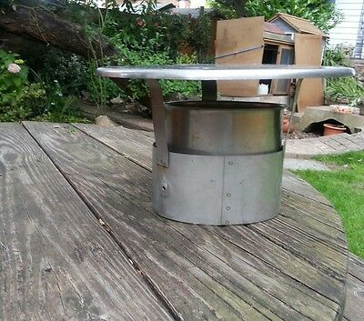 "6"" 150mm Stainless steel chimney cowl rain cover protector stove cap"