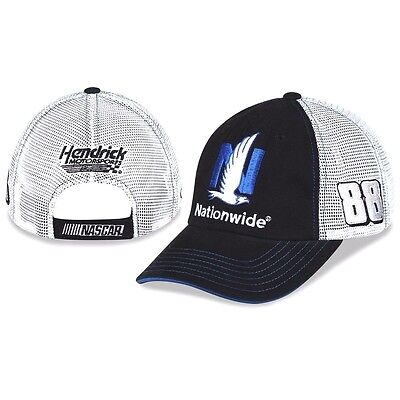 2017 Dale Earnhardt Jr #88 Nationwide Sponsor Mesh Trucker Hat New Free Ship