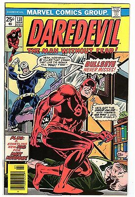 Daredevil 131 FN- Condition 1st Appearance of Bullseye!