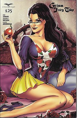 Grimm Fairy Tales # 125 Gold Foil Exclusive Cover Edition !!!   Nm