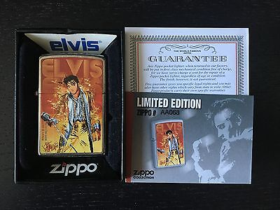 Zippo Elvis Presley - Rare Limited Edition For Portugal