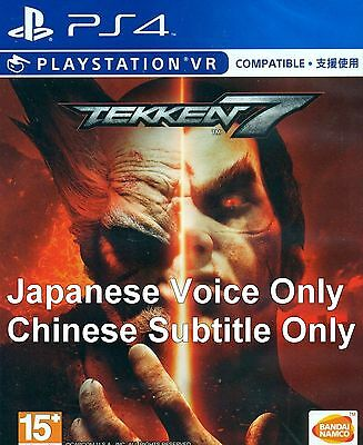 NEW SONY PS4 Games TEKKEN 7 HK version Japanese Voice & Chinese Subtitle  Only