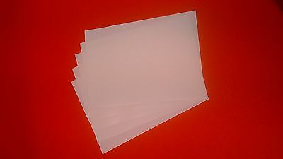 5 Double Sided A4 Adhesive Tape sheets- very sticky