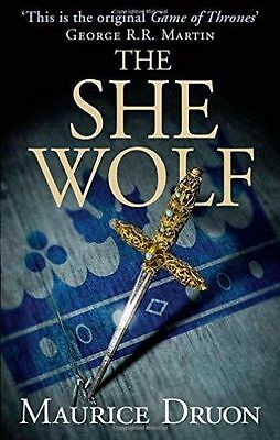 The She-Wolf (The Accursed Kings, Book 5), Druon, Maurice, New Book