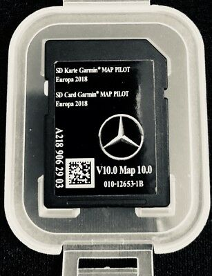 NEW! Genuine Mercedes GARMIN SD CARD V7 2017/2018 MAP PILOT  A B CLA E CLS CLASS
