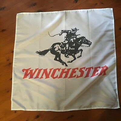 Winchester gun sign 5 x 3 foot man cave pool room flag smith and Wesson
