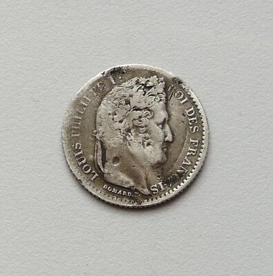 LOUIS-PHILIPPE 25 centimes 1845 B