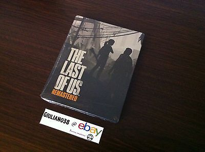 Steelbook The Last Of Us - Collector Ps4 - Neuf Blister Rare Sans Le Jeu No Game