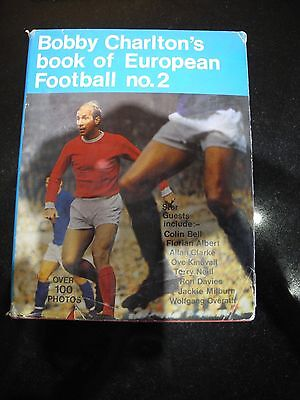 Bobby Charlton's book of European Football no. 2, 1970 Unclipped. VG