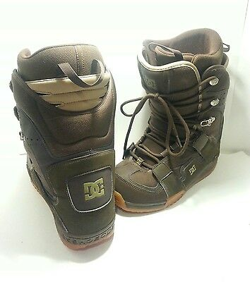 DC Snowboard Boots Phase Model Men's Size 9.5 Brown