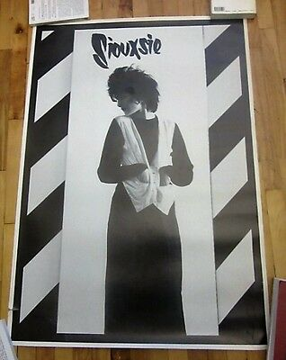 Siouxsie Of Siouxsie And The Banshees Vintage Uk Poster