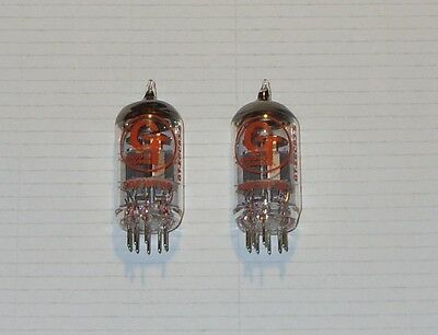 Closely Matched Pair Groove Tubes ECC83-S (12AX7) Valves/Tubes New