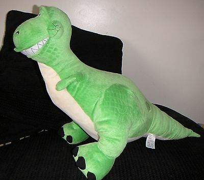 "BIG 30"" DISNEY STORE REX DINOSAUR PLUSH LARGE TOY STORY vgc"